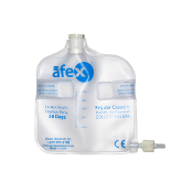 afex male incontinence system standard collection bag