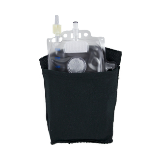afex male incontinence system leg bag holder