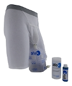 afex male incontinence system starter kit alternative to condom catheters